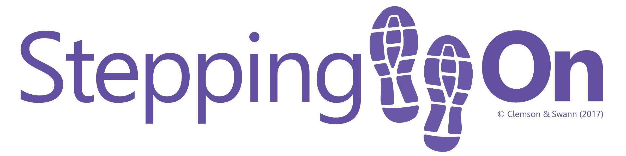 Stepping On Logo