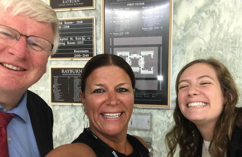 Michelle, Rebecca and Glen