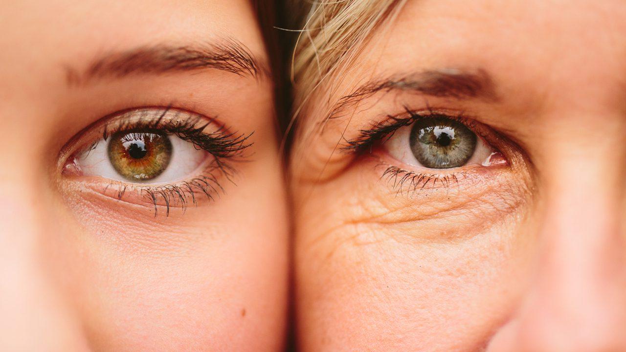 Young eye vs old eye