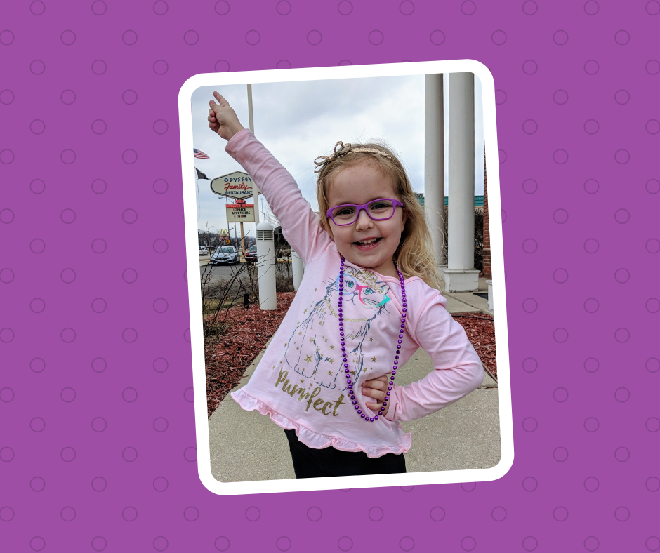 Ellie - Preschool Vision Screening Ambassador