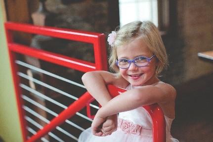 Preschool Vision Screening Ambassador Caroline
