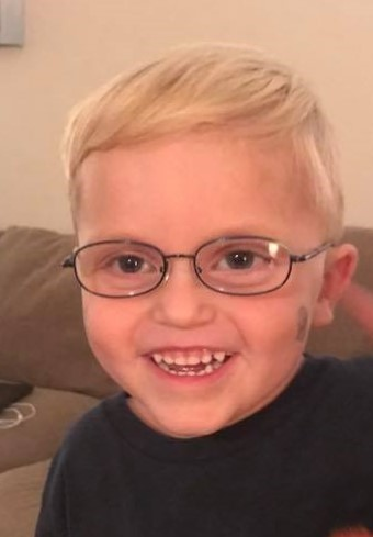 Sawyer with glasses