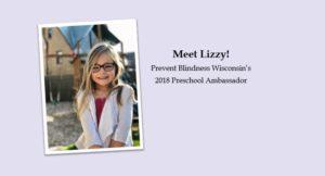 2018 Preschool Ambassador - Lizzy