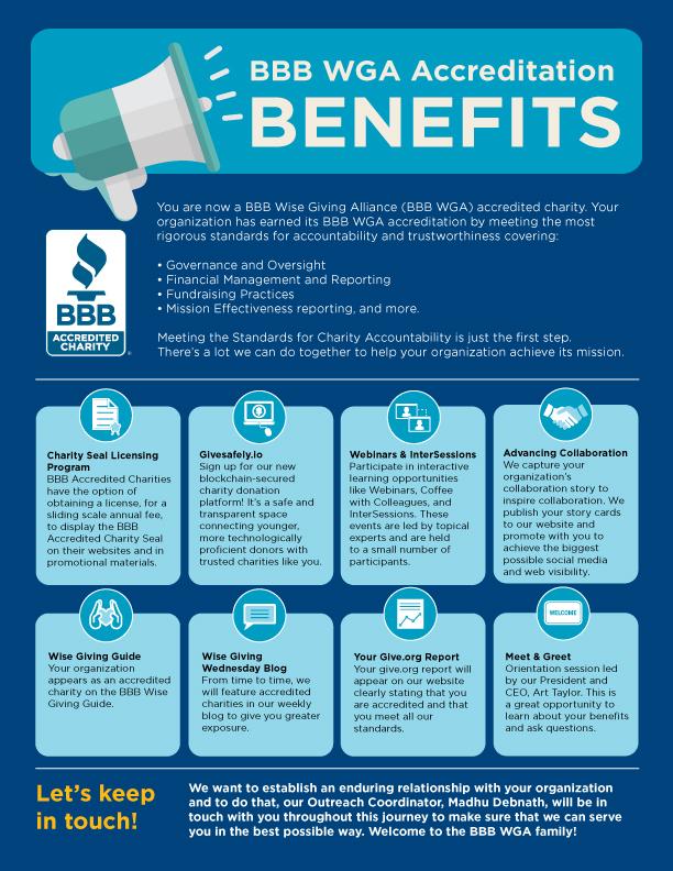BBB WGGA Accreditation Benefits